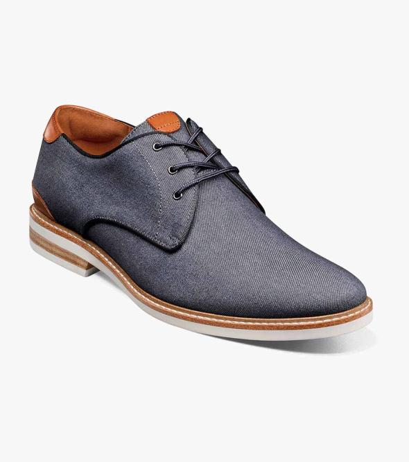 Highland Canvas Plain Toe Oxford