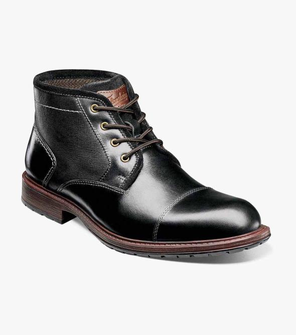 Vandall Cap Toe Lace Up Boot