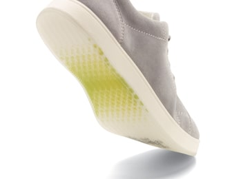 Ultra-flexible sole adjusts to your movement making for a more comfortable gait.