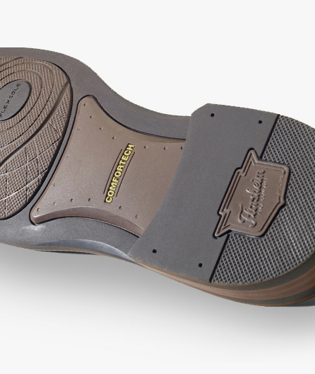 Durable rubber outsole with Flexsole forefoot for additional flexibility.