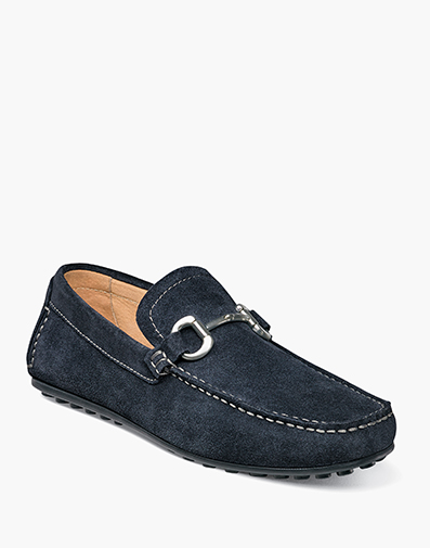 Danforth Moc Toe Bit Loafer in Navy for 136.90 dollars.