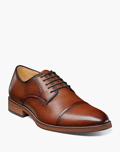 Blaze Cap Toe Oxford in Cognac for 89.99 dollars.