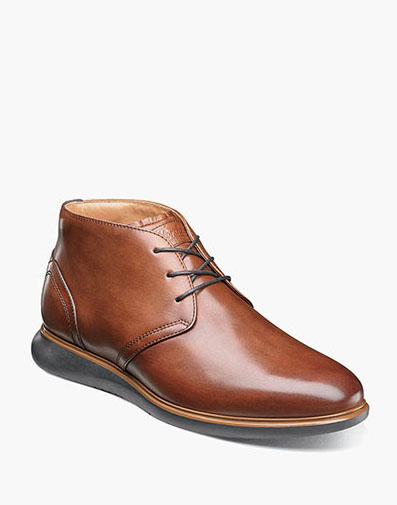 Fuel Plain Toe Chukka Boot in Cognac for $180.00