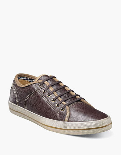 Flash Plain Toe Lace Up in Brown Tumbled for 121.90 dollars.