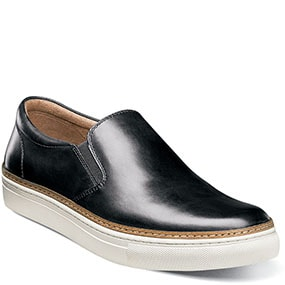 Pivot Plain Toe Slip On in Black for 115.90 dollars.