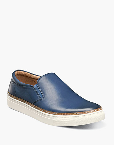 Pivot Plain Toe Slip On in Blue for 115.90 dollars.