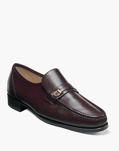 Como Moc Toe Bit Loafer in Brown for $260.00